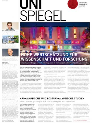 Unispiegel Cover Ausgabe 2/2021