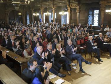 Veranstaltung in der Aula der Alten Universität