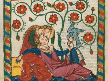 SGF Mittelalterstudien - Codex Manesse: Autorbild Konrads von Altstetten