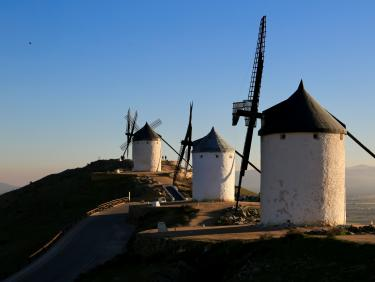spanische Windmühlen