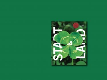 RuCa STADT & LAND Cover auf Farbfläche