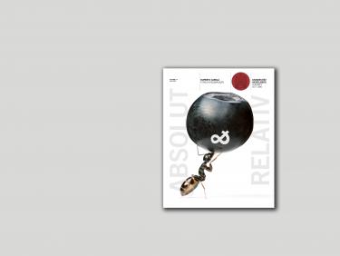 RuCa 14 ABSOLUT & RELATIV Cover auf Farbfläche