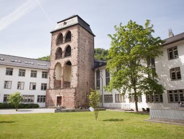 Hexenturm im Innenhof der Neuen Universität