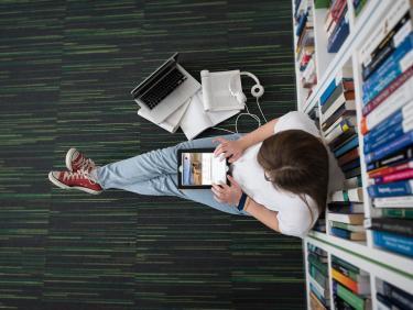 Bild: Online-Vorträge für Studierende